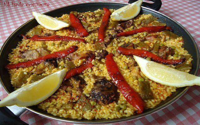 Imagen de la receta de Arroz de pollo alicantino