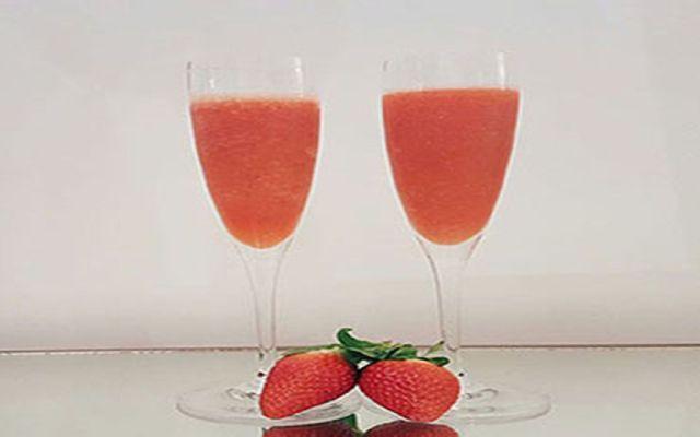 Imagen de la receta de Sorbete de fresas al cava